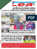 Periódico Lea Martes 08 de Mayo Del 2018