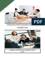 Buku Panduan Penyusunan Dokumen Akreditasi - 2012 18-12-2013