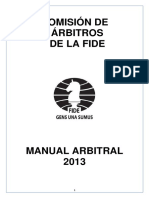 Manual Arbitral Fide 2013