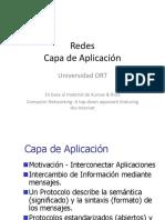 Redes Tema2 Capa de Aplicacion 2016