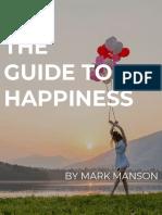 Happiness - Mark Manson