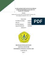 Kualitas Pelaporan Keuangan Dan Peran Auditor Eksternal Dalam GCG