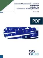 Commercial Building Acoustics V1.0