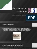 Clasificación de los cementos.pptx