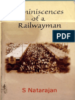 Reminiscences of a Railwayman by Natarajan