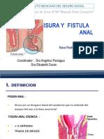 Fisura y Fistula Anal