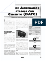 Base de Agregados Tratados Con Cemento (Batch)