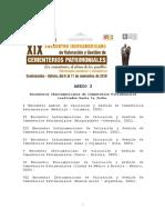 Anexo 3 Encuentros Realizados por la RICP