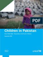Children in Pakistan 20 September 2010