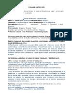 Ficha de Entrevista Postulante- Candidata1