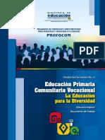 UF11 Educacion Primaria Comunitaria Vocacional 2017