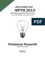 Analisis Bedah Soal SBMPTN 2013 Kemampuan Penalaran Numerik (Barisan Dan Deret)