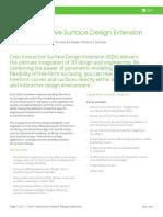 Datasheet-Creo Interactive Surface Design Extension-En