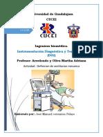 definicion ventilacion mecanica