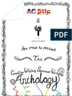 ANTHOLOGY of the Creative Writing Summer Workshop 2010