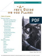 Web Enhacement - Planescape - A Player's Guide to the Planes