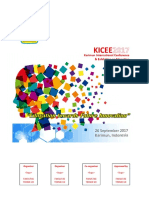 01 Buku Program Seminar & Pameran KICEE2017