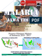Jawa Timur Menuju Eliminasi Malaria