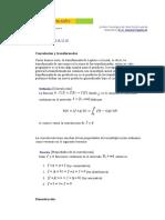 Teorema de Convolución