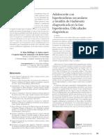 Historía Clinica de Hipertiroidismo