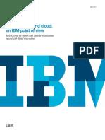 Ibm Devops for Hybrid Cloud White Paper