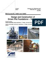 FHWA Design and Constructionof Driven Pile Foundations