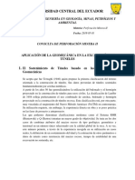 Perforacion Minera II Consulta N1