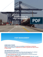 Introduction to Port Management