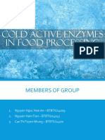 Cold Active Enzymes in Food Processing- Updated