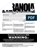 Paranoia XP Service Pack 1 corrections