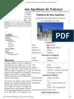 Catedral de San Apolinar de Valence - Wikipedia, La Enciclopedia Libre
