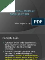 Askep Lansia Dengan Masalah Sosial Kultural 1.ppt