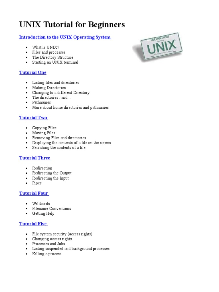unix tutorial for beginners | command line interface | source code