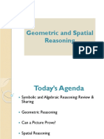 Geometric and Spatial Reasoning Presentation