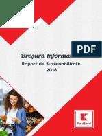 INFOGRAFIC Kaufland România - Raport de Sustenabilitate 2016