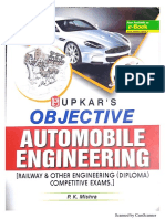 Objective Automobile Engineering by P. K. Mishra (Upkar Publication)