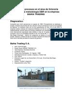 Mejora de Procesos en El Área de Tintorería Utilizando La Metodología DBR en La Empresa Bahía Tradines