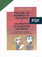 Pease Allan Porque Los Hombres No Escuchan y Las Mujeres No Entienden Los Mapas