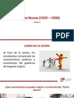 PPT Sesion 4 La Patria Nueva-1