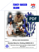 CBC - Shielded Metal Arc Welding NC II
