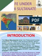 Life Under Delhi Sultanate