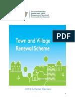 Town & Village Renewal Scheme 2018 - Laois County Council