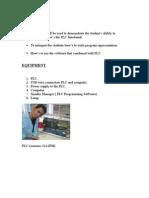 PLC Report Unikl Msi (Task 1)
