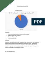 industry practice - evaluation
