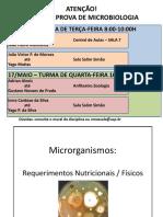 Aula Teórica 8 - Requerimentos Nutricionais - 2017