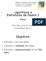 AED1 - Aula10 - Pilhas