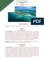 Advert - 8 May 2018 (Finance) - Job Maldives