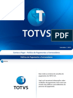 TOTVS - Politica de Pagamentos a Fornecedores