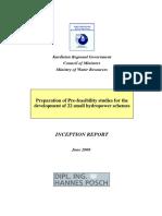 Kurdistan Inception Report 12062008
