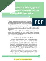 Bab 1 Kasus-kasus Pelanggaran HAM Dalam Perspektif Pancasila
